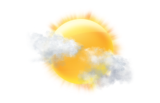 Couverture nuageuse partielle