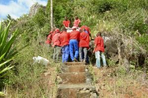 A. TESSIOT Mayotte : Transporter des éléments d'une installation GSM - Photo 2