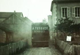 A. TESSIOT - Historique, photo de l'activité de déménagement en 1930.
