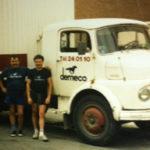 A. TESSIOT - Historique, photo de l'activité de déménagement en 1980.