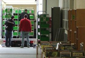 A. TESSIOT - Savoir-faire, déménagement d'archives et d'ouvrages de bibliothèque en armoires roulantes