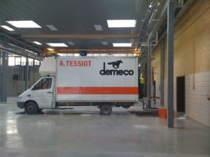 Transfert d'une entreprise par A.Tessiot Déménagements