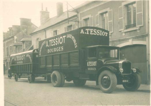 Déménagements Bourges 1950
